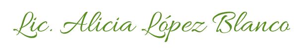 Lic. Alicia Lopez Blanco